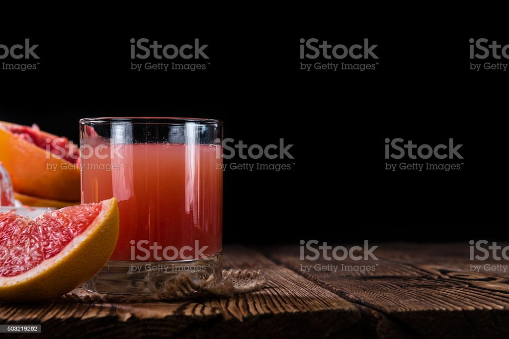 Freshly Squeezed Grapefruit Juice stock photo