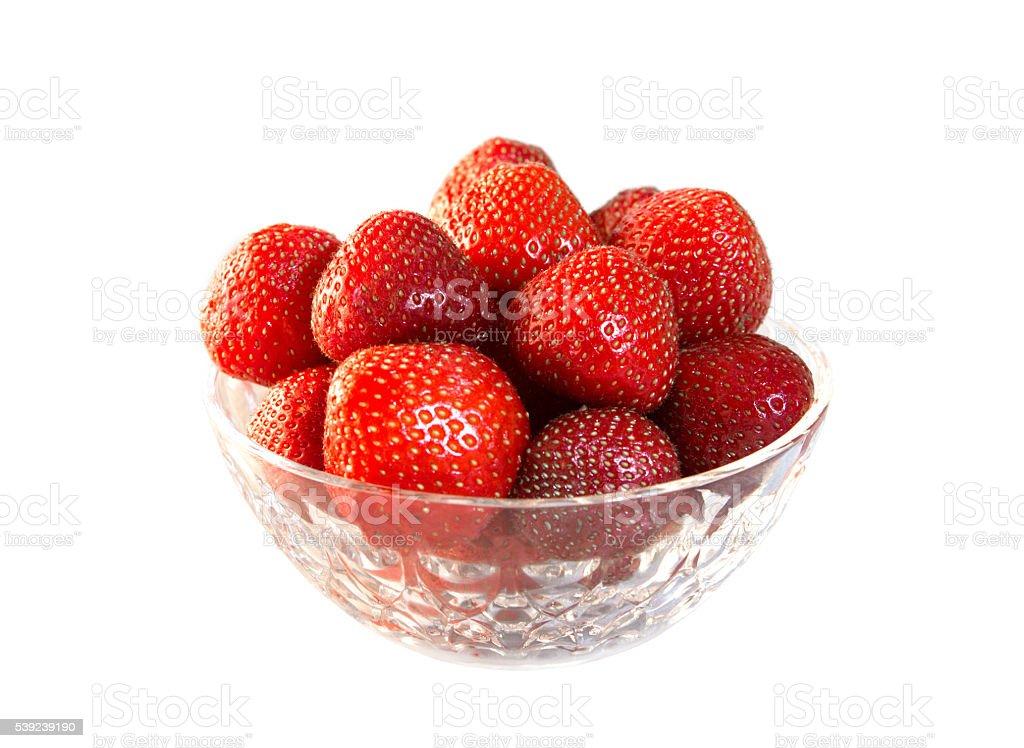 Recién fresas foto de stock libre de derechos