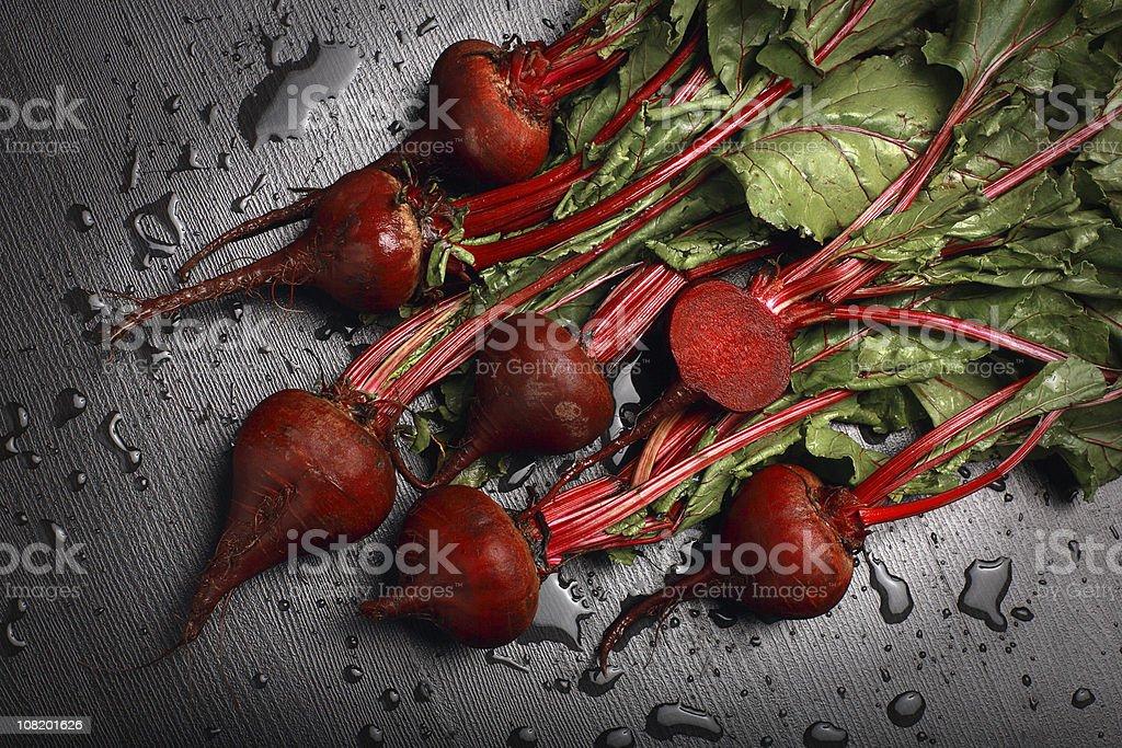 Freshly Washed Beets stock photo