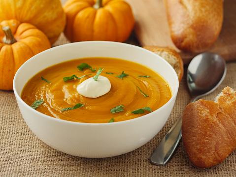 Freshness Pumpkin soup
