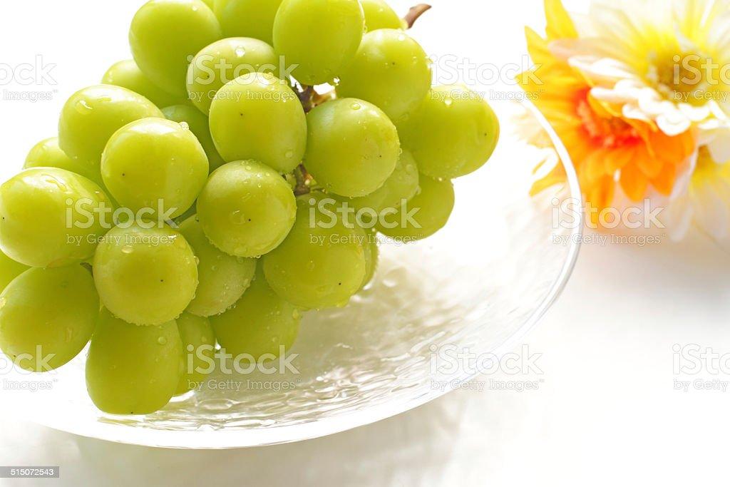 freshness Shine Muscat stock photo