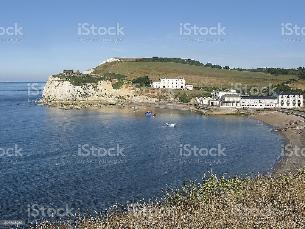 Freshwater Bay, Isle of Wight stock photo