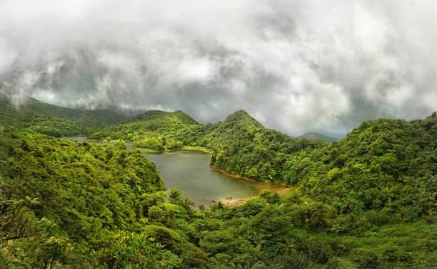 Süßwasser-See, Dominica – Foto