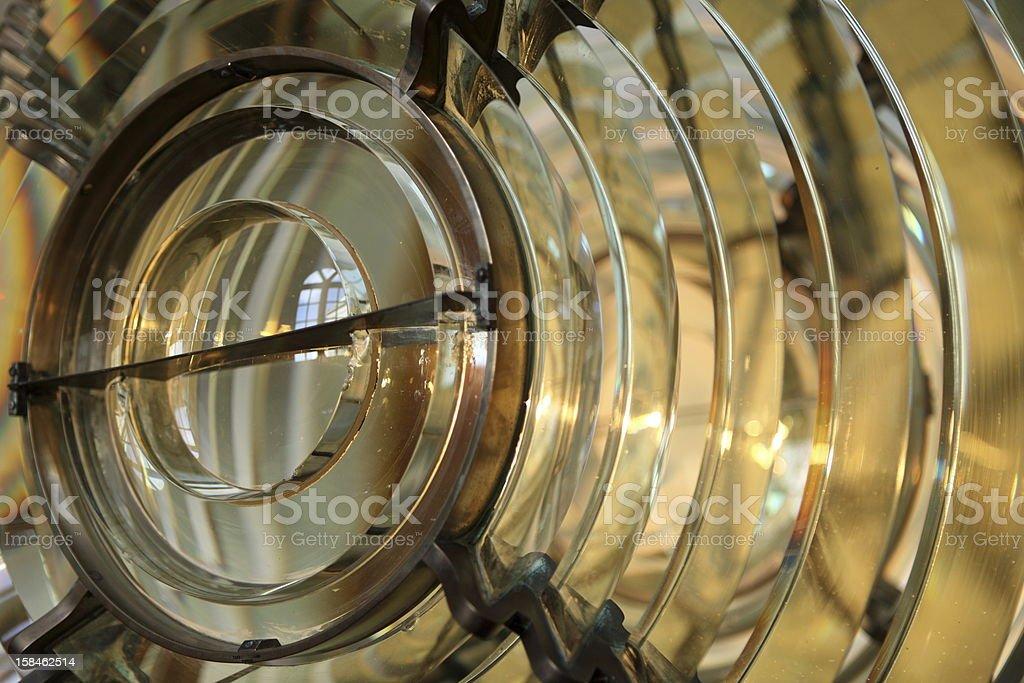 Fresnel lens royalty-free stock photo