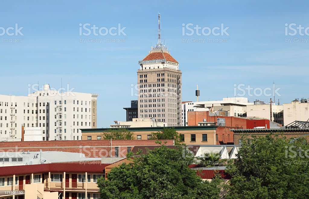 Fresno california royalty-free stock photo