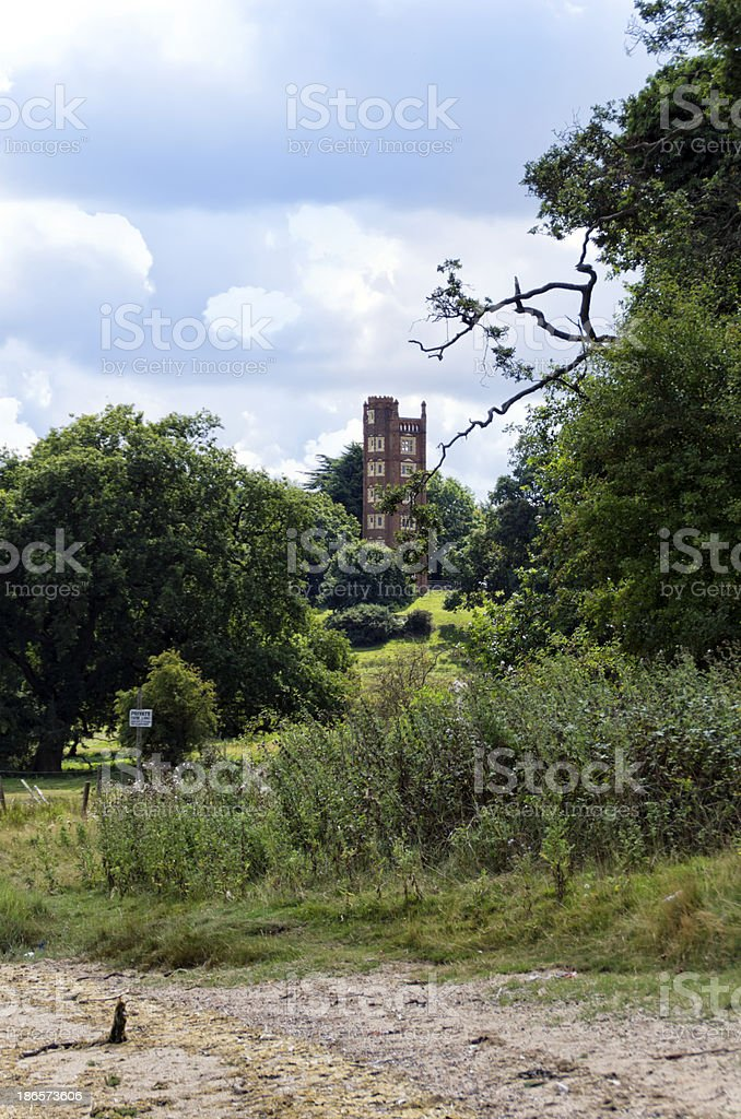 Freston Tower, Suffolk royalty-free stock photo