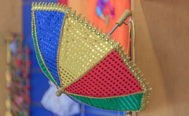 Frevo Regenschirm für 2019 Karneval in Olinda Stadt – Foto