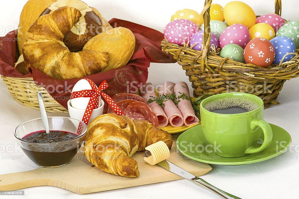 Frühstück stock photo