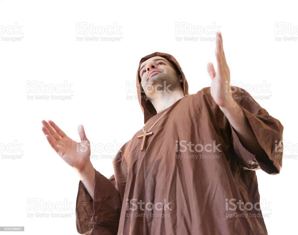 friar franciscan stock photo