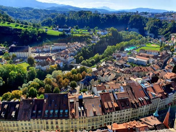 Fribourg (Switzerland) stock photo