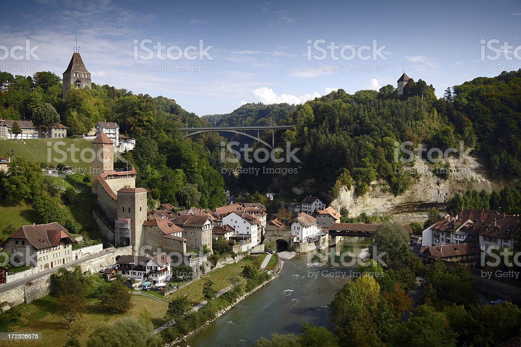 Fribourg royalty-free stock photo