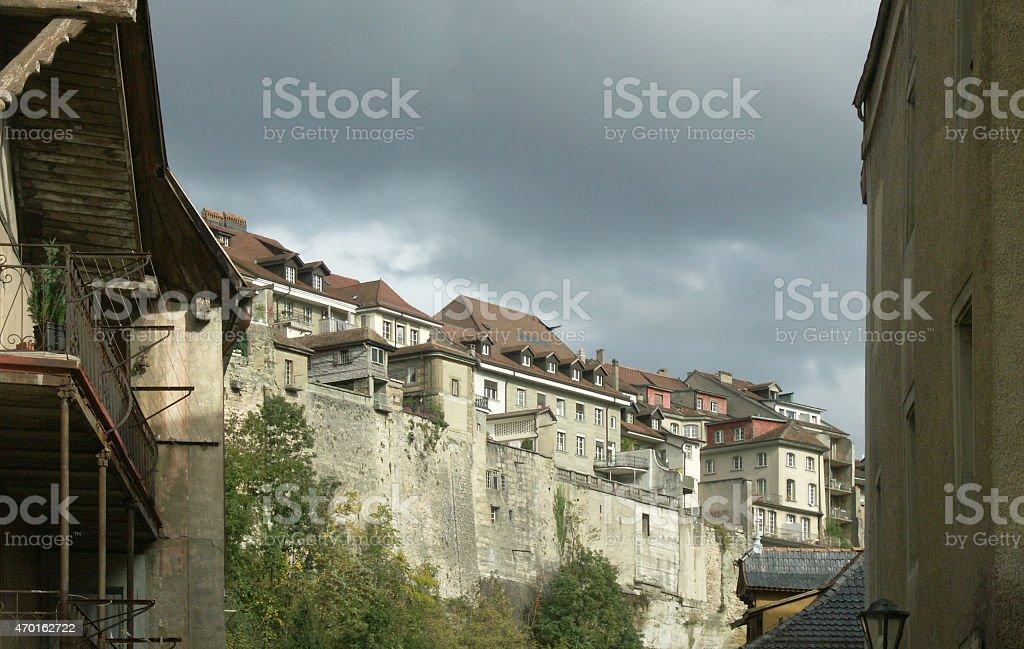 Fribourg - Switzerland stock photo