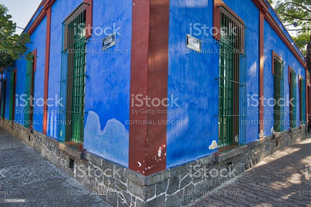 Frida Kahlo Museum stock photo