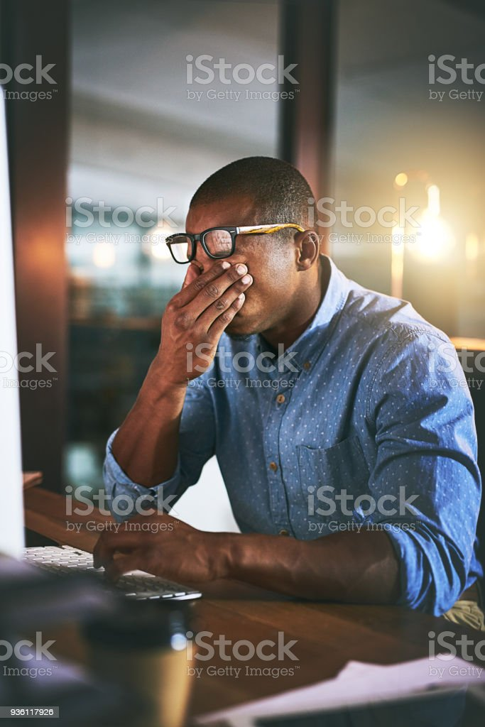 Friday cannot come soon enough stock photo