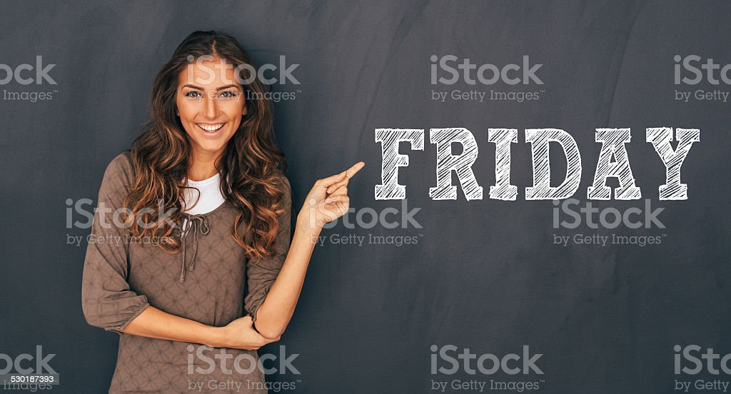 Friday stock photo