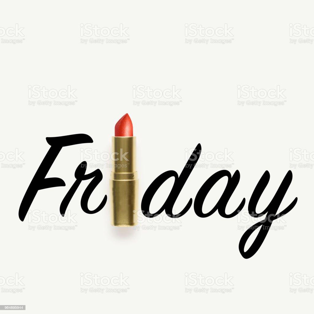 Friday. royalty-free stock photo