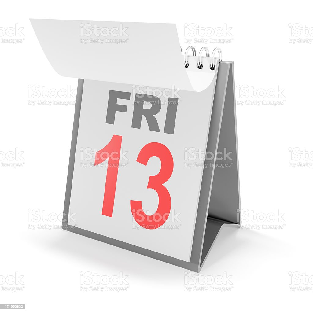 Friday the 13th stock photo