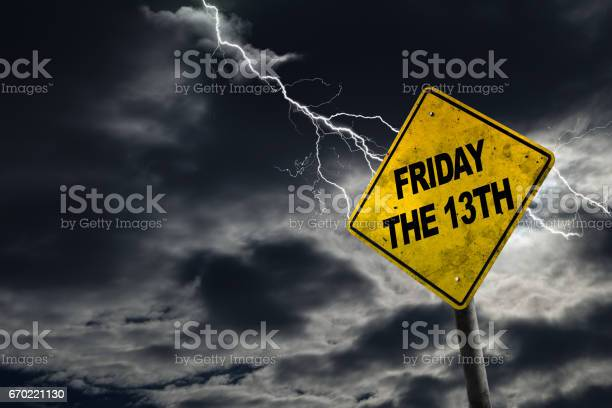 Friday the 13th sign with stormy background picture id670221130?b=1&k=6&m=670221130&s=612x612&h=ip3ei sinefitejvkhq3itcp wbg4y2uveaevh2dn c=