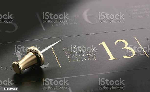 Friday the 13th written in golden letters over black background picture id1171480981?b=1&k=6&m=1171480981&s=612x612&h= f4t1yyjykaker5le5597v3tzpvyaiicm1gkerkrkzs=