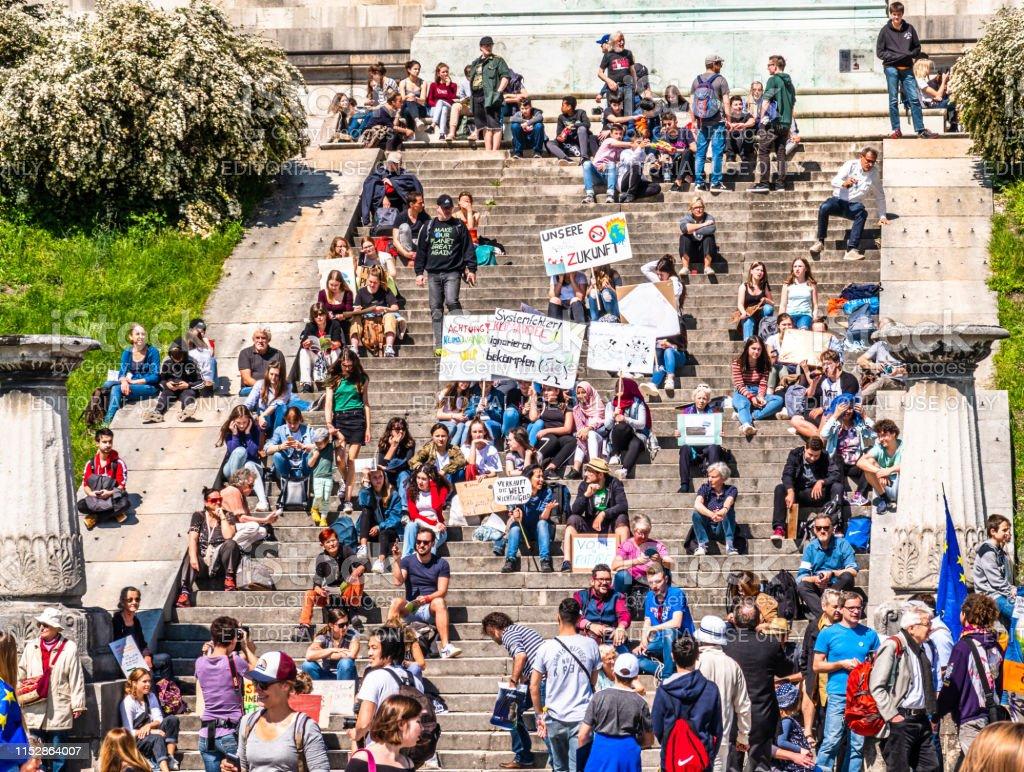 Freitag für Zukunftsprost in munich - Lizenzfrei 2019 Stock-Foto