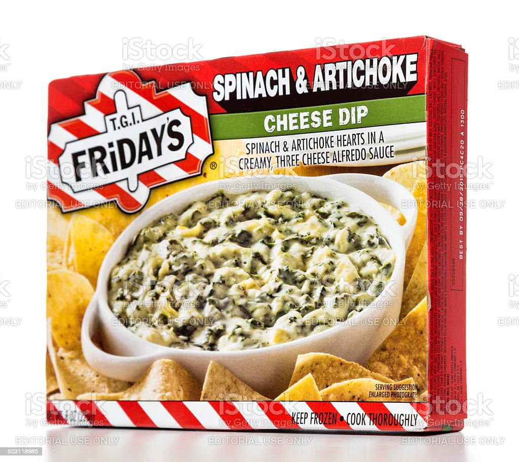 Tgi Fridays Spinach Artichoke Cheese Dip Box Stock Photo Download Image Now Istock