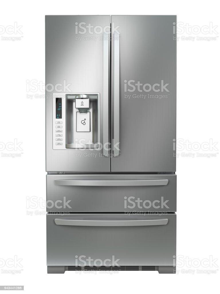 Kühlschrank Mit Gefrierfach Side By Side Edelstahl Stahl Kühlschrank ...
