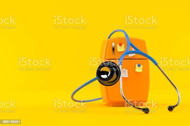Kylskåp Med Stetoskop-foton och fler bilder på Arbetsverktyg