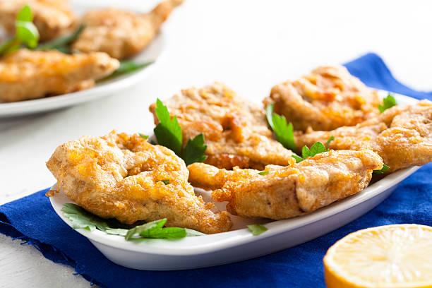 Fried Artichokes Hearts stock photo