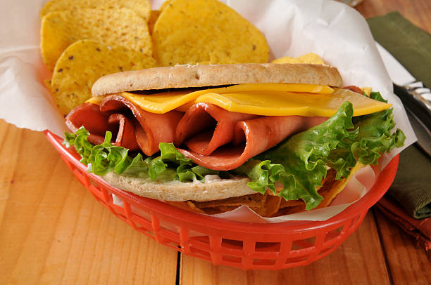 Fried Bologna Sandwich Stock Photos, Pictures & Royalty ...