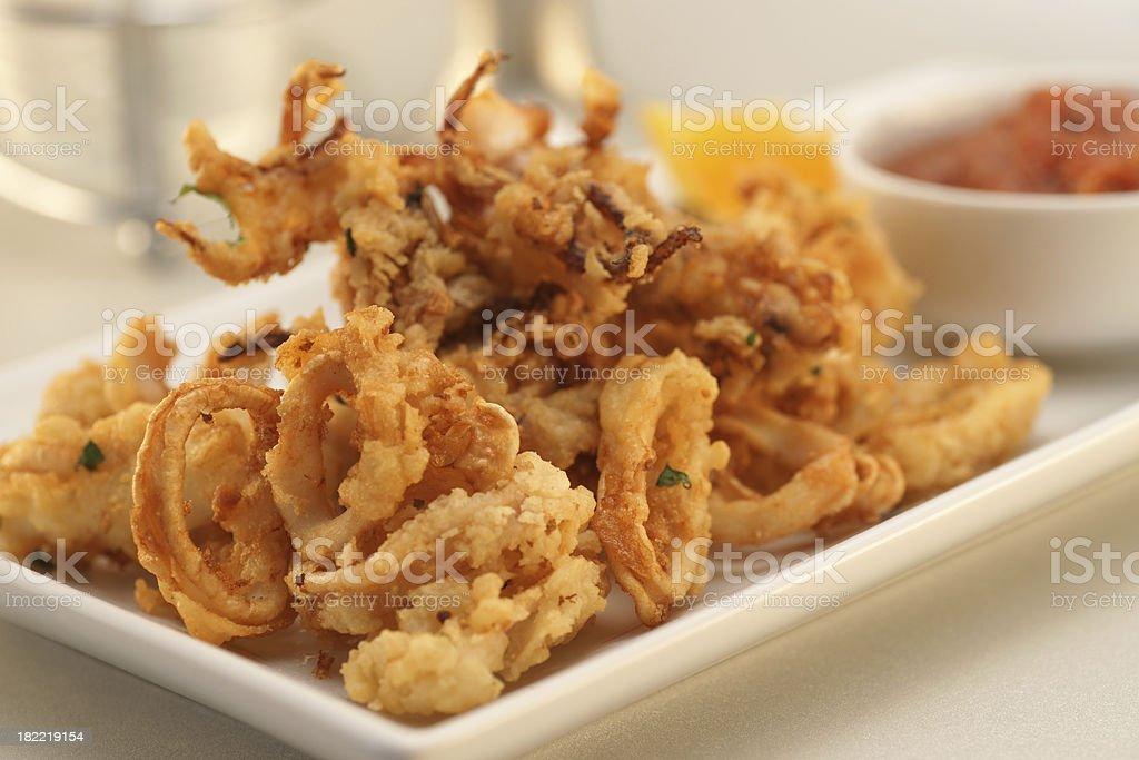 Frittierte Calamari – Foto