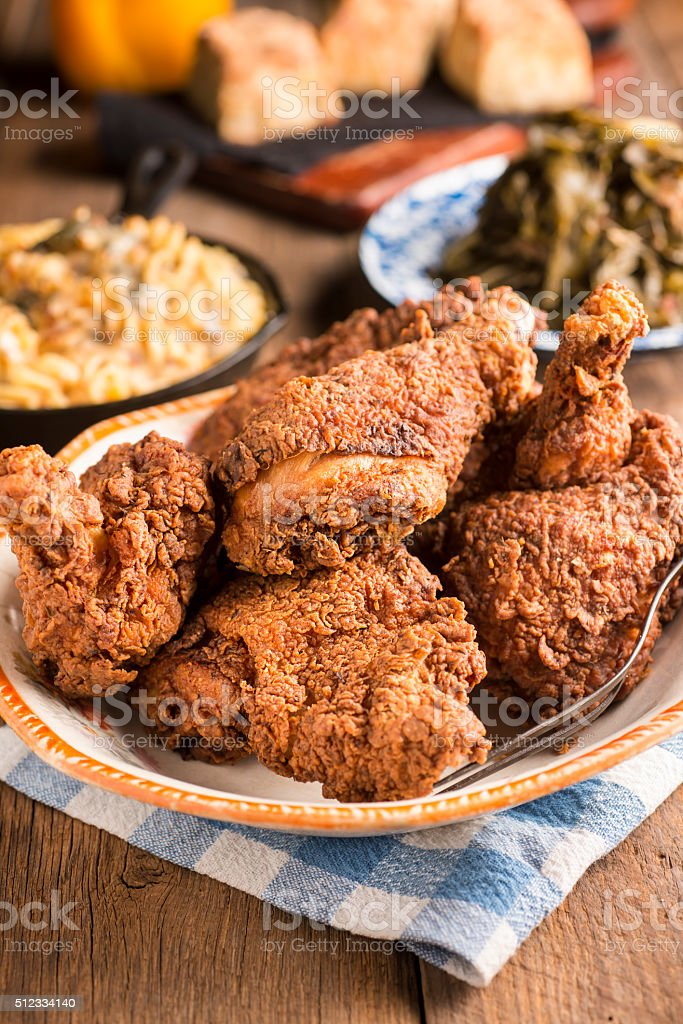 Fried Chicken stock photo