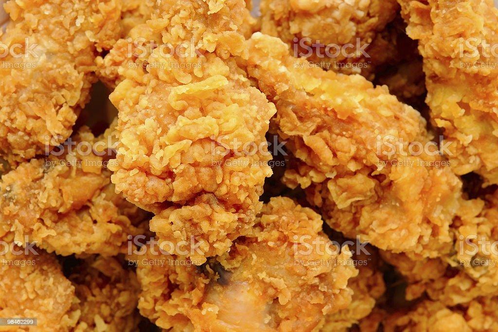 프라이드 닭 royalty-free 스톡 사진