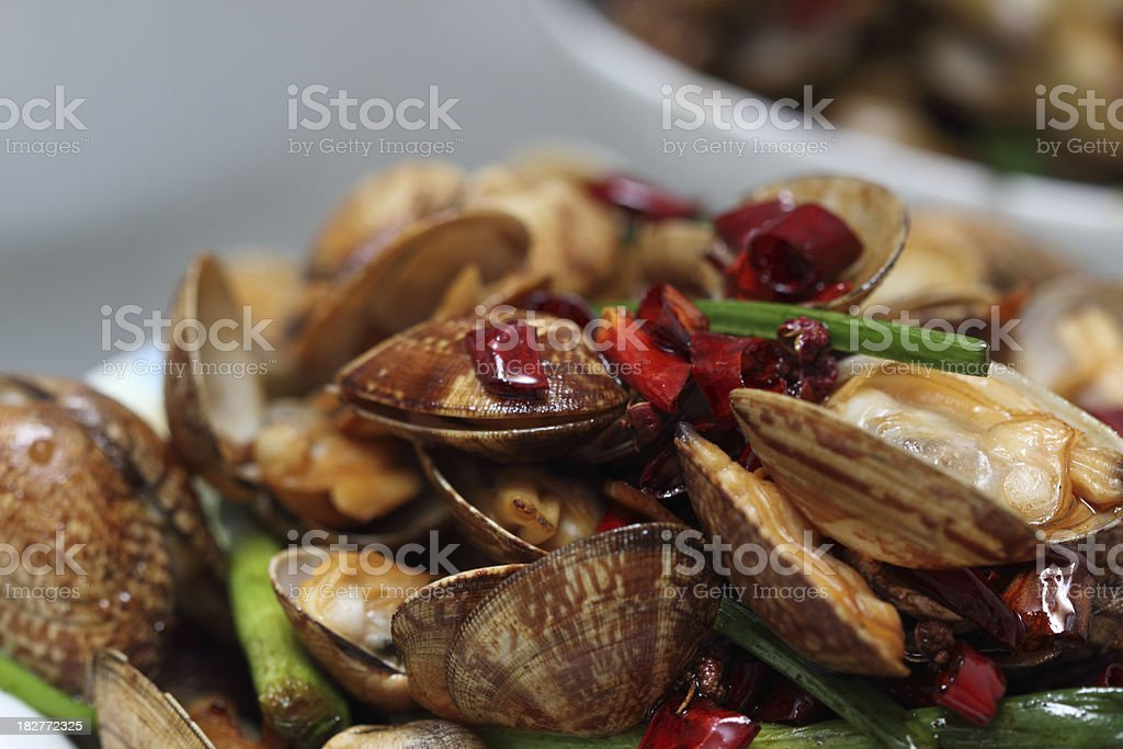 Fried Clams royalty-free stock photo