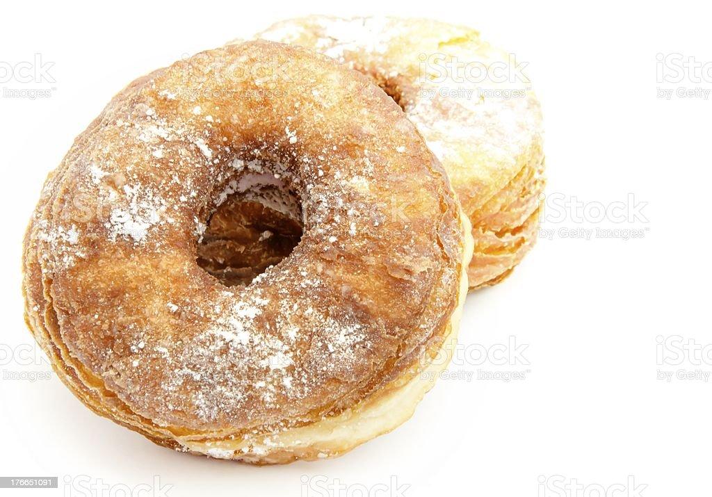 Fried donut royalty-free stock photo
