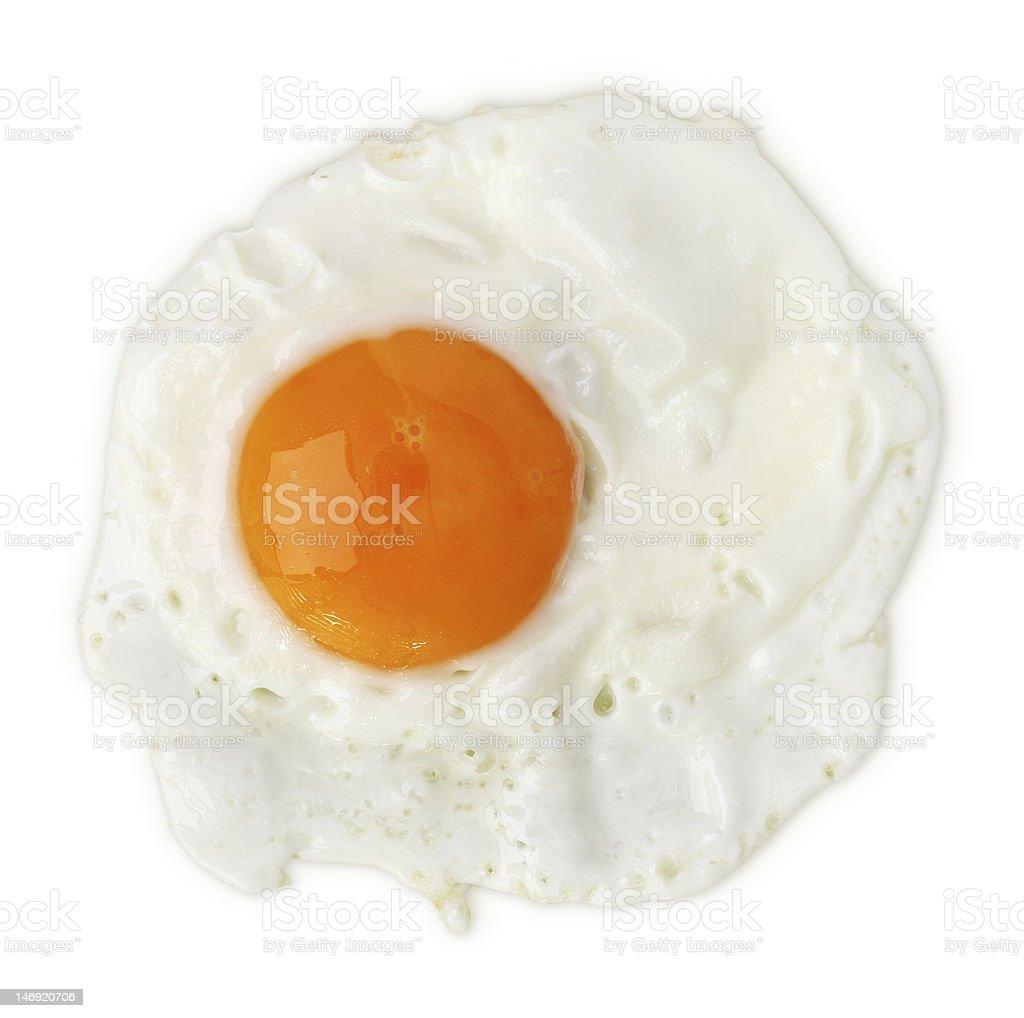 Fried egg royalty-free stock photo