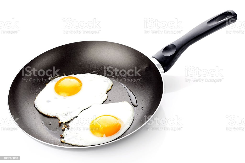 Fried Egg royalty-free stock photo