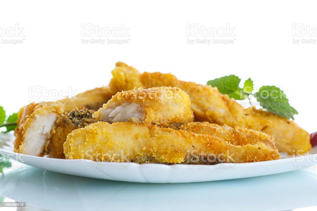 Peixe frito - foto de acervo