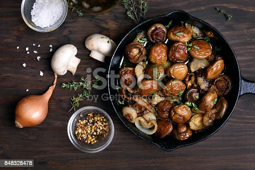 istock Fried mushrooms 848328478