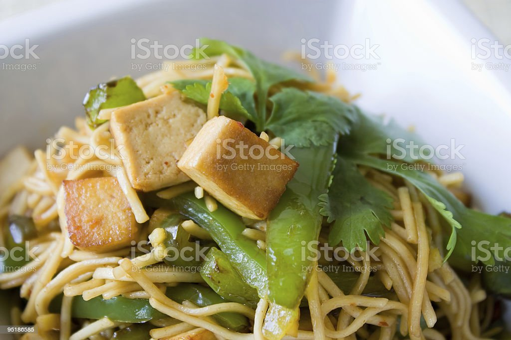Fried Noodles royalty-free stock photo