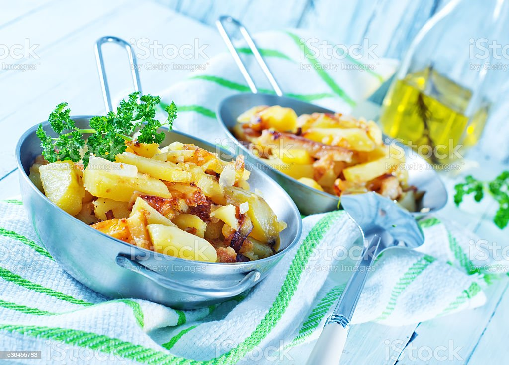 Gebratene Kartoffel – Foto