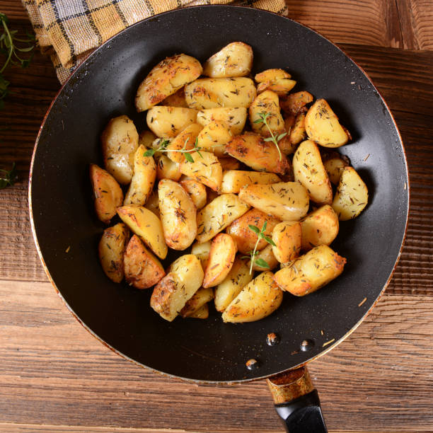 Fried potatoes – Foto