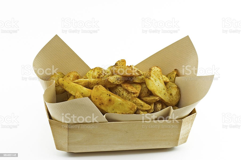 Patate fritte foto stock royalty-free