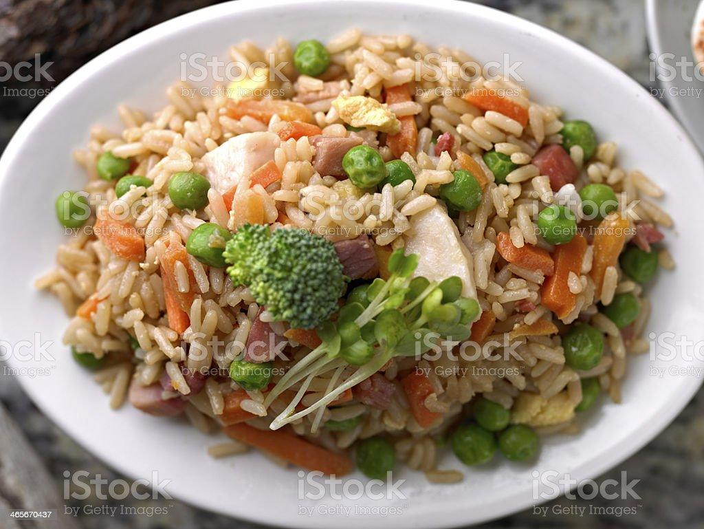 Fried Rice stock photo