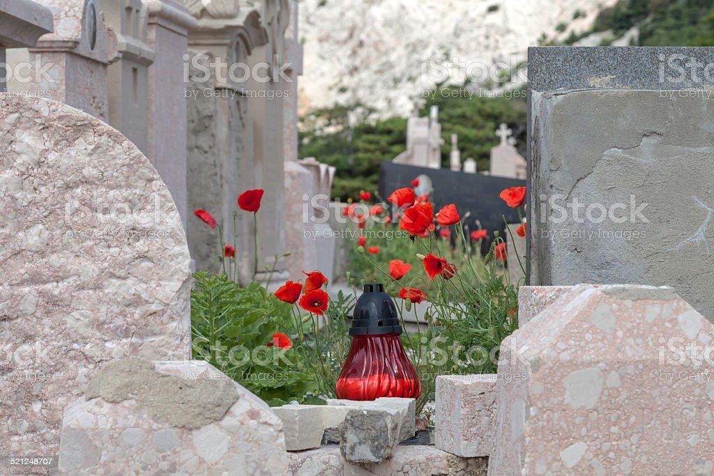 Cemetery of confucius auf der Isla Insel Krk – Foto