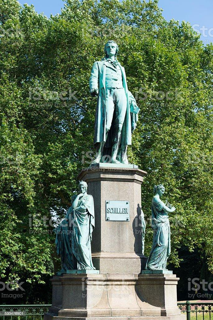 Friedrich Schiller akas Johann Christoph Friedrich von Schiller stock photo
