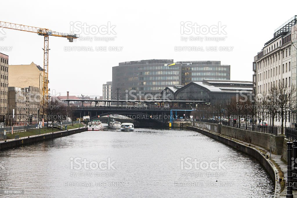 Friedrichstrasse stock photo