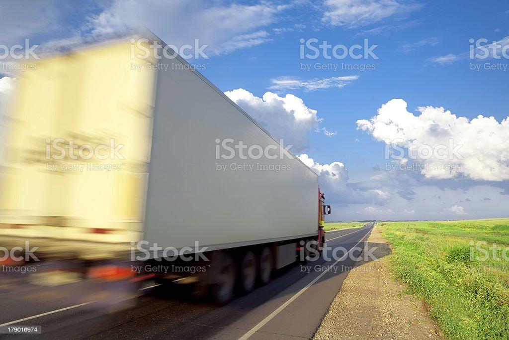 frieght transportation royalty-free stock photo