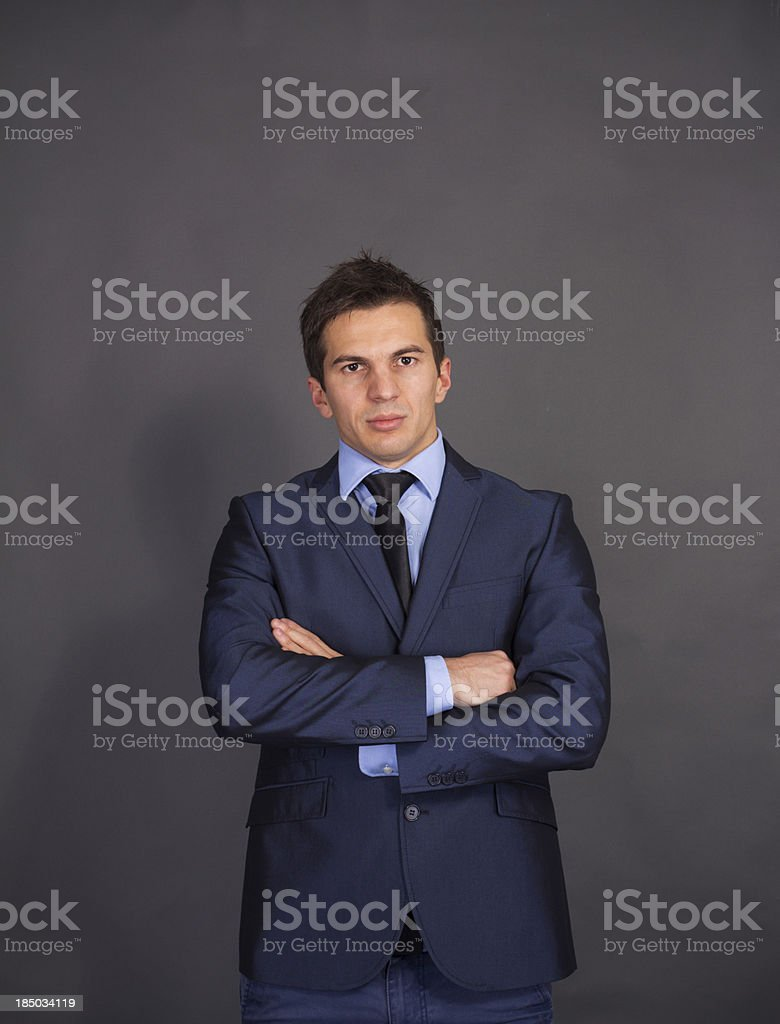Friendly And Professional Businessman Stock Photo More
