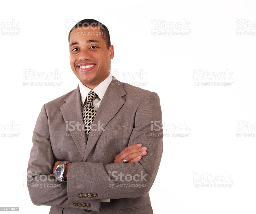 Friendly And Professional Businessman Stock Photo Download