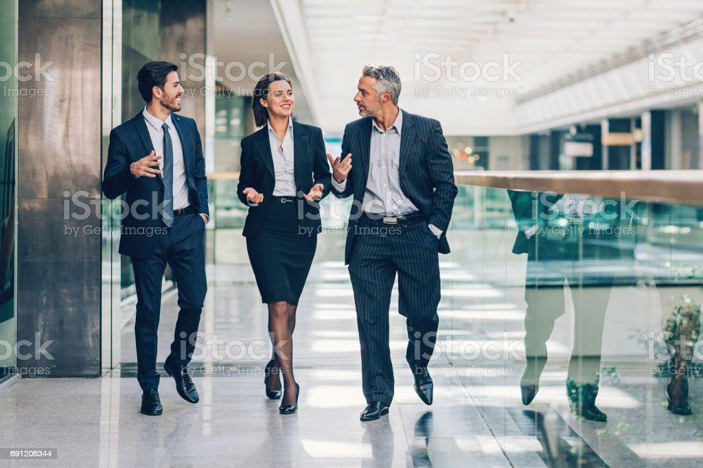 Freundliches business Besprechung - Lizenzfrei Anleitung - Konzepte Stock-Foto